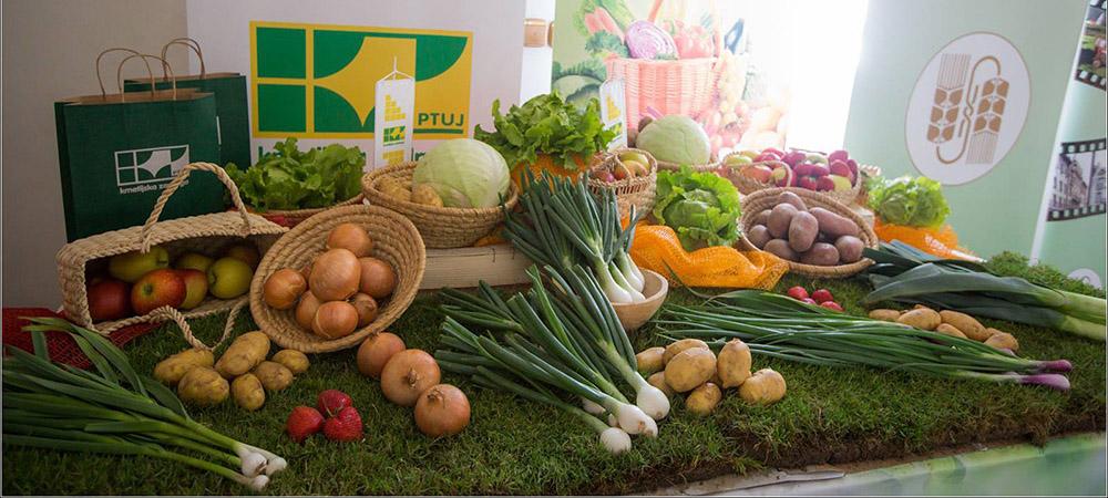 KZ Ptuj in Oljarna Fram sta sodelovali na razstavi dobrote slovenskih kmetij